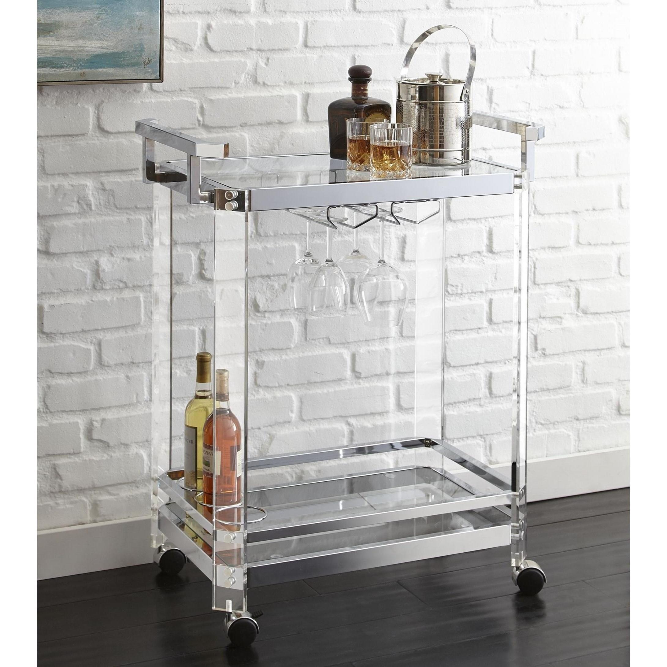 Aerin Server Cart by Star at EFO Furniture Outlet