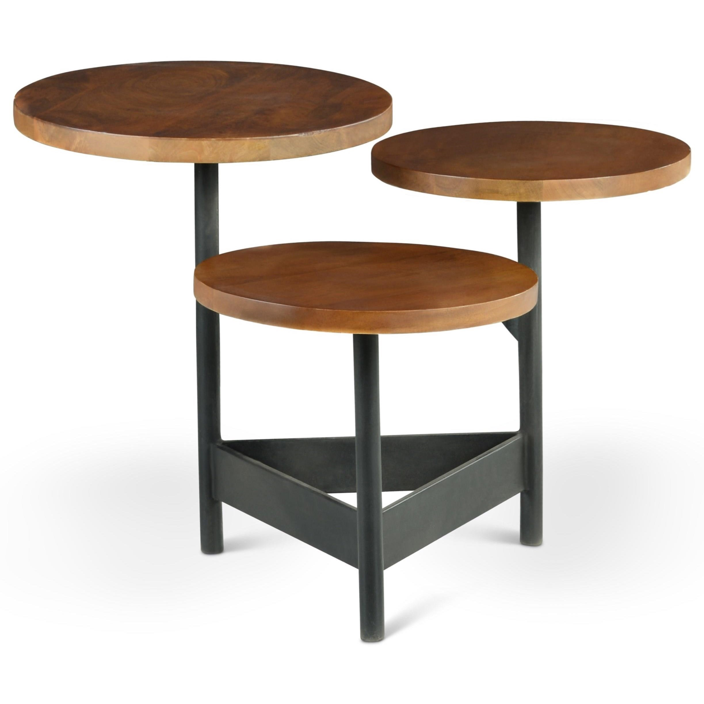 Agra Side Table by Steve Silver at Van Hill Furniture