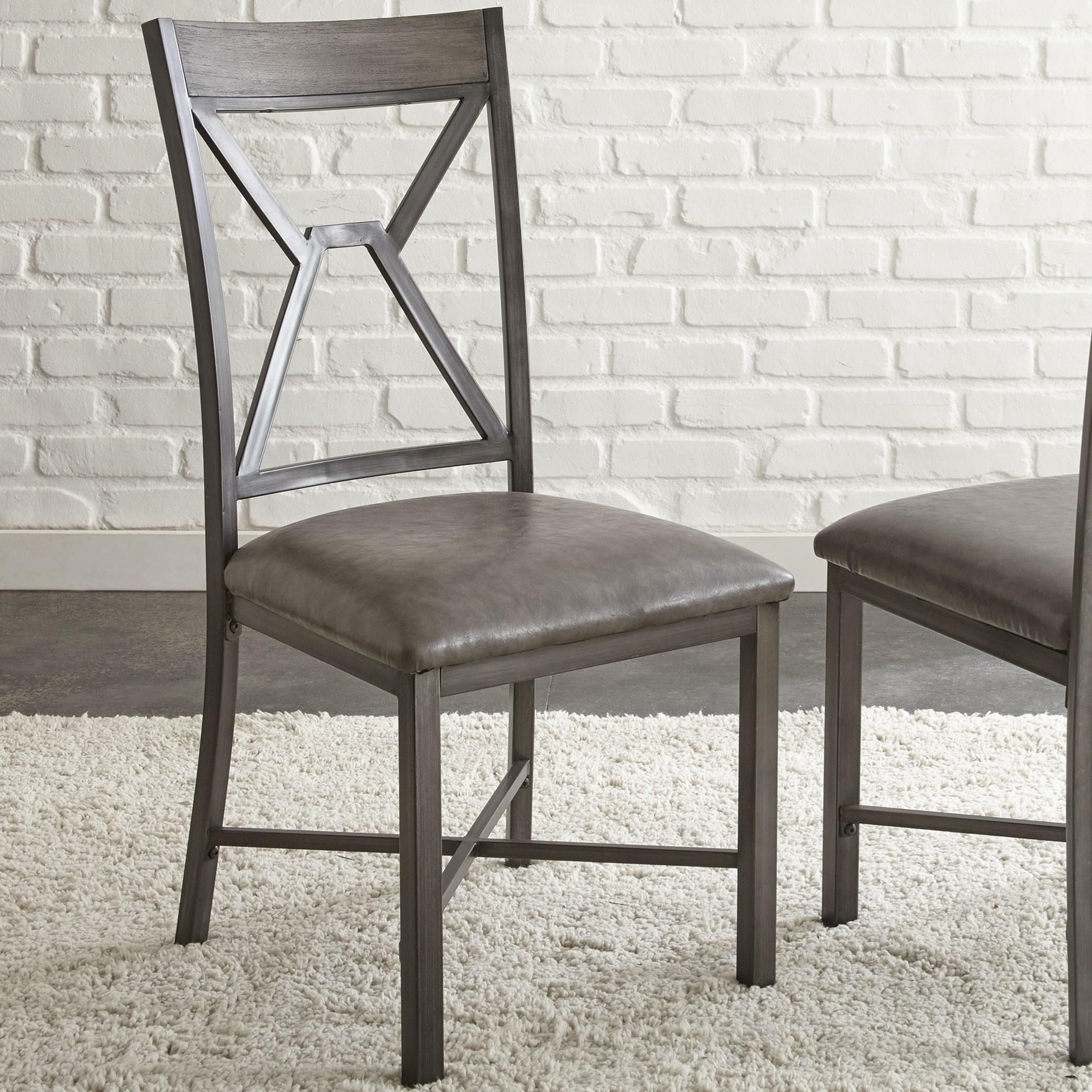 Alamo Side Chair by Steve Silver at Van Hill Furniture
