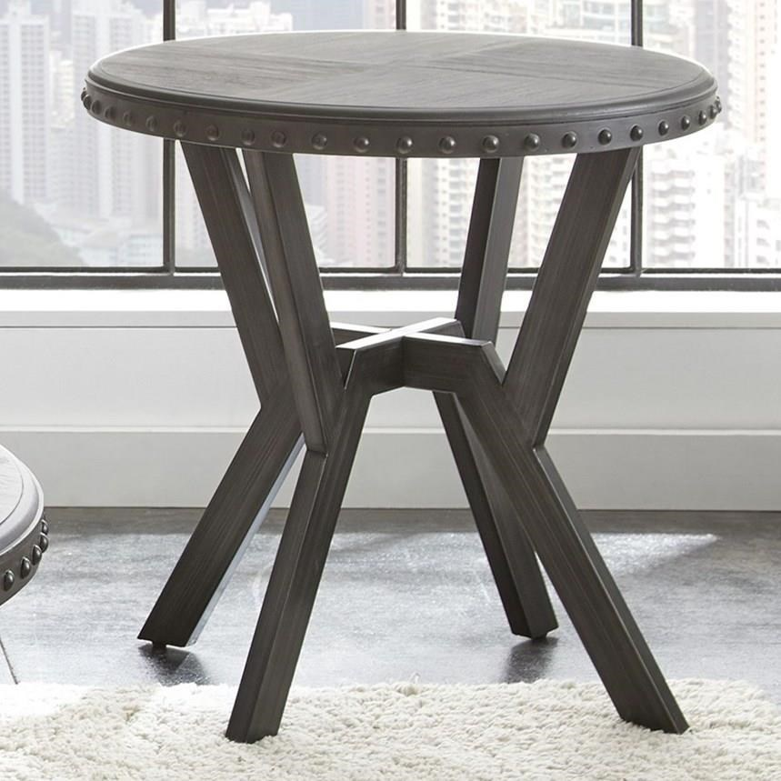 Alamo Round End Table by Star at EFO Furniture Outlet