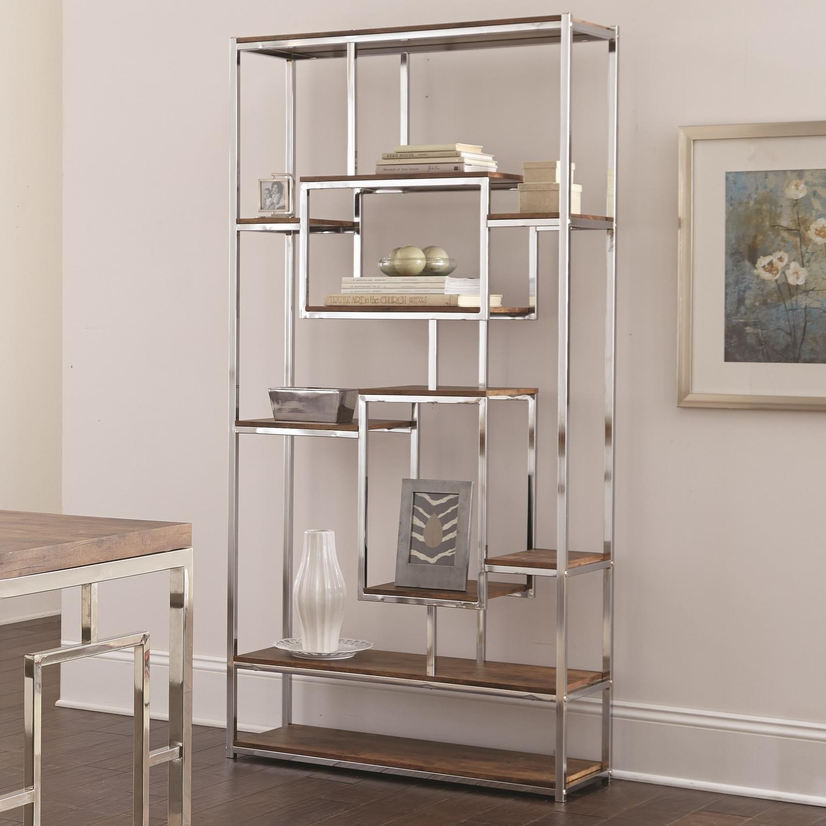 Alize Book Shelf by Steve Silver at A1 Furniture & Mattress