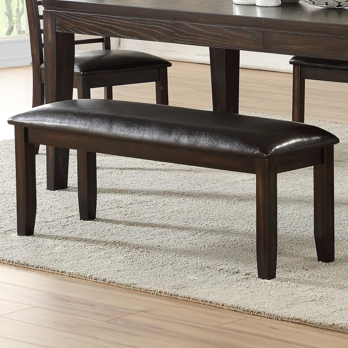 Ally Dining Bench by Steve Silver at Northeast Factory Direct