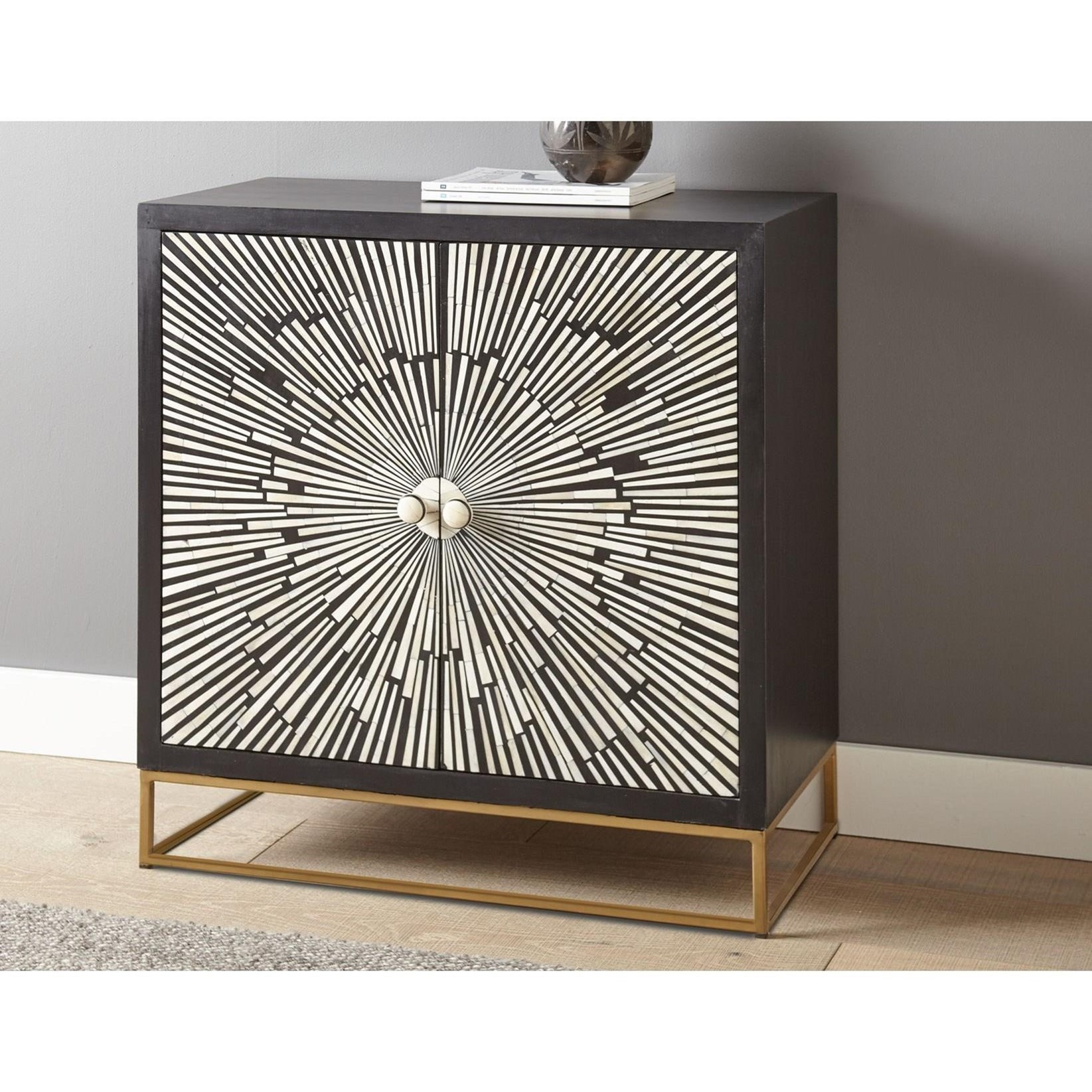 Amika Accent Cabinet by Steve Silver at Walker's Furniture
