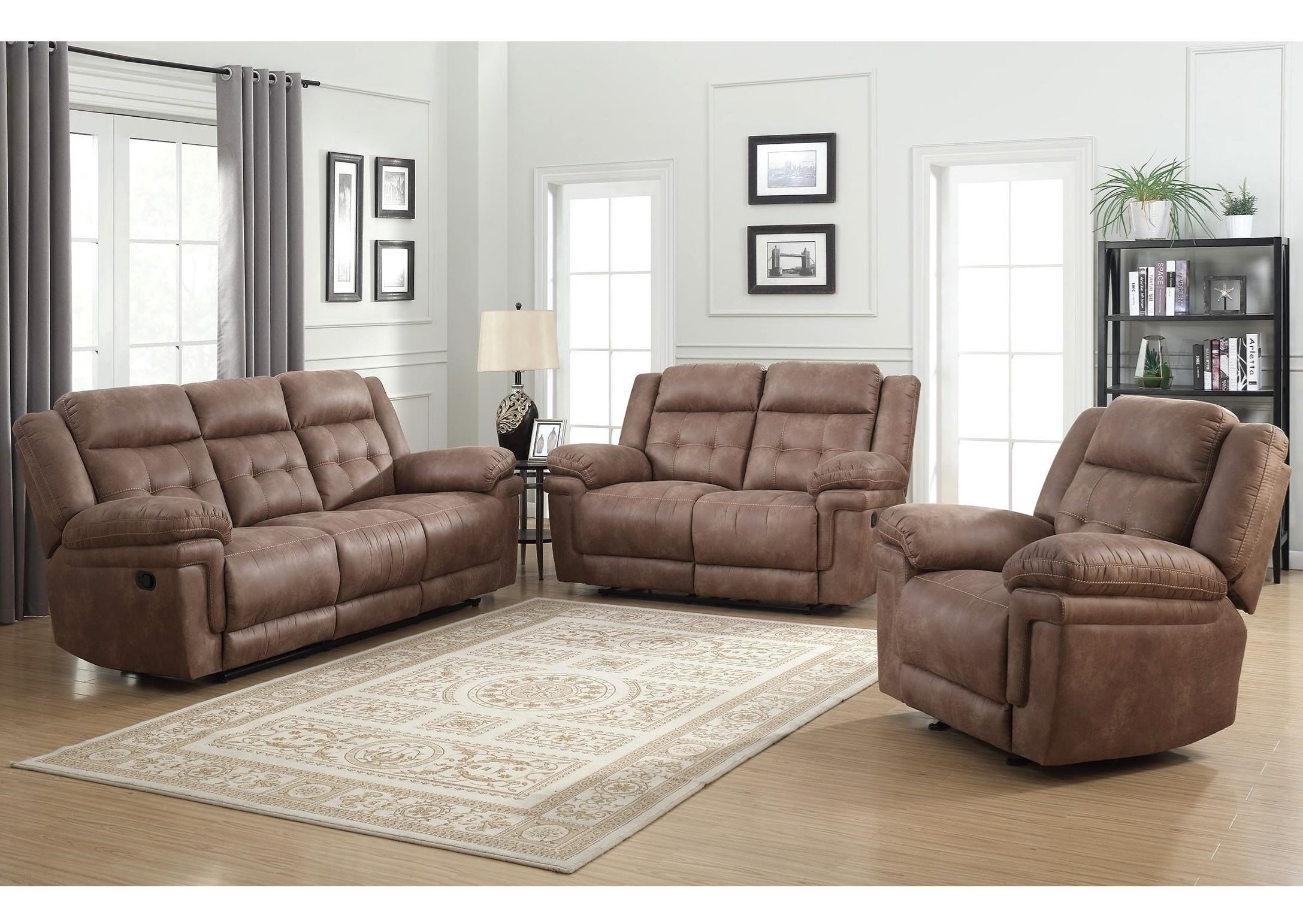 Anastasia Reclining Living Room Group by Star at EFO Furniture Outlet