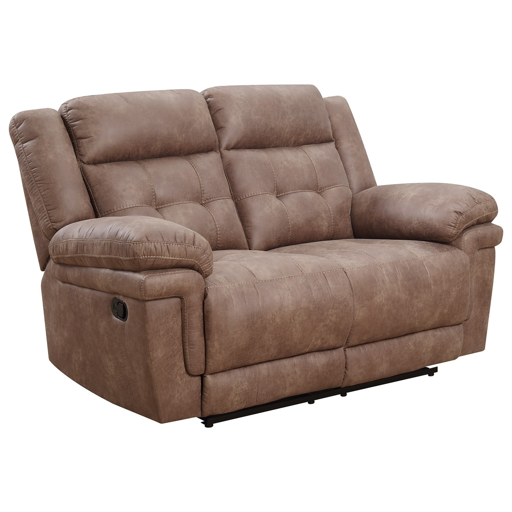 Anthony Reclining Loveseat by Silver Furniture at Ruby Gordon Home