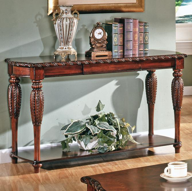Antoinette Sofa Table by Steve Silver at Walker's Furniture