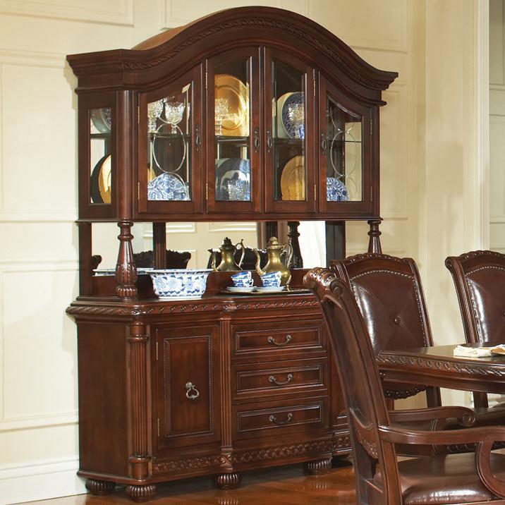 Antoinette Buffet & Hutch by Steve Silver at Walker's Furniture