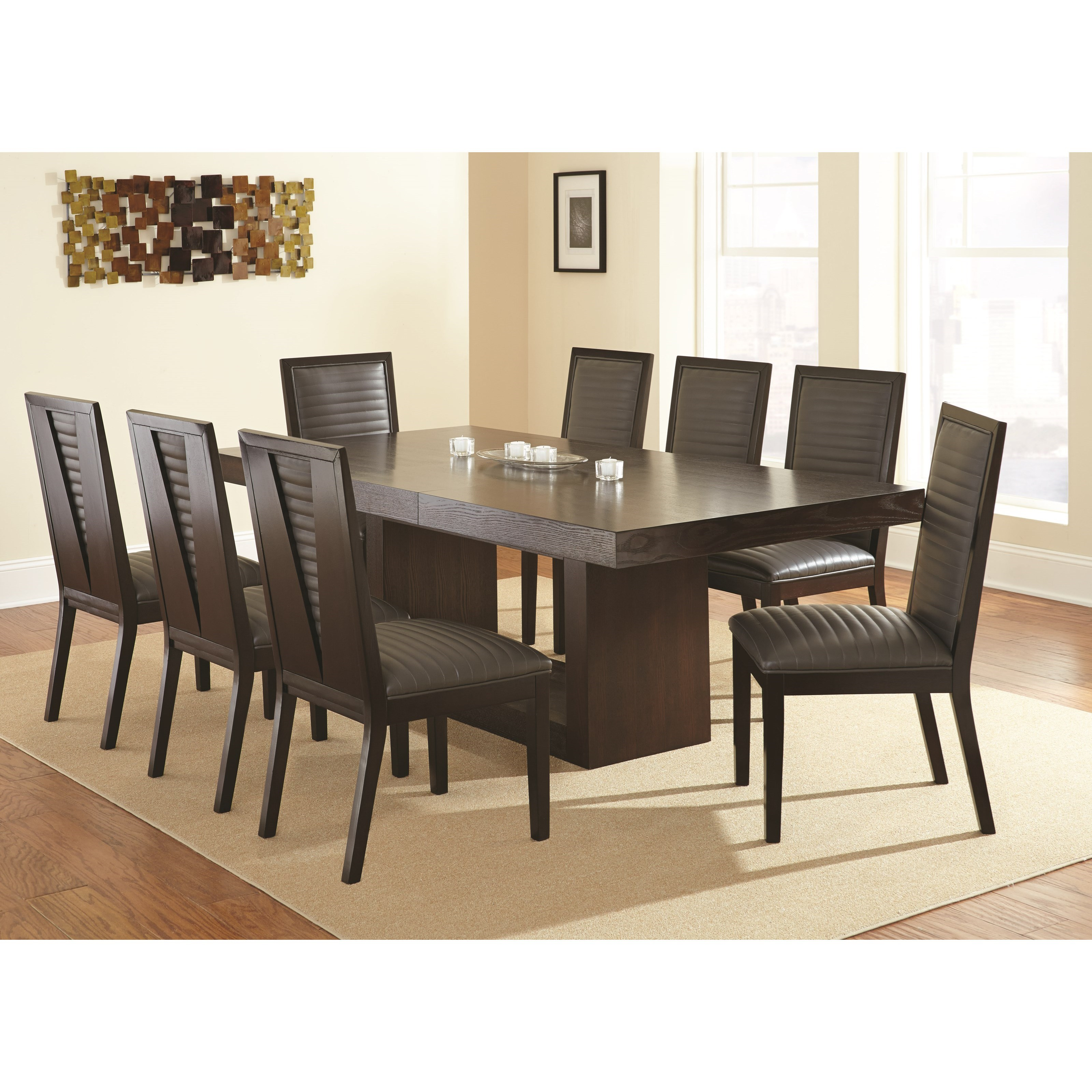 Antonio 7 Piece Dining Set by Steve Silver at Walker's Furniture