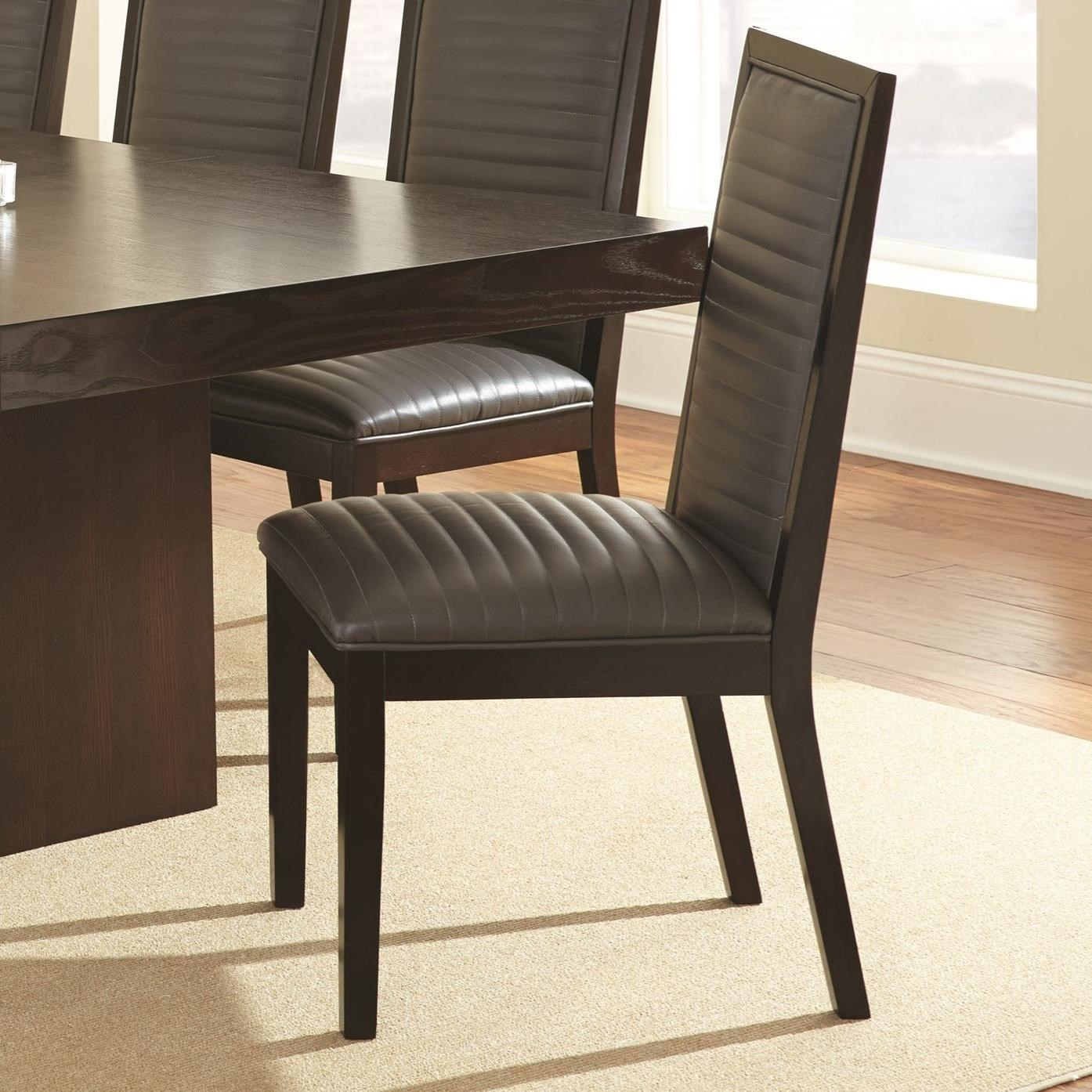 Antonio Side Chair by Steve Silver at Walker's Furniture