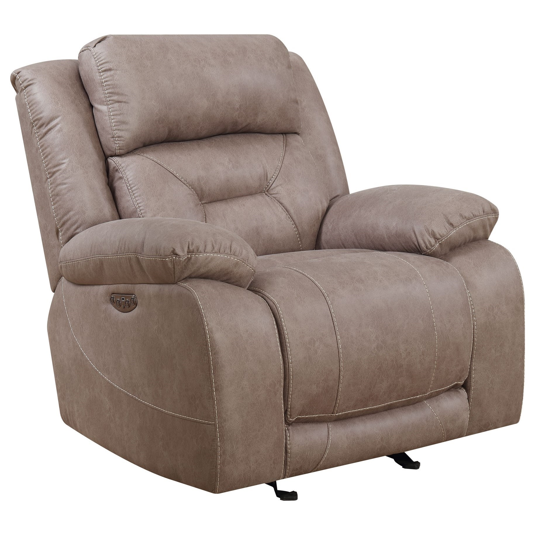 Aria Power Recliner by Vendor 3985 at Becker Furniture