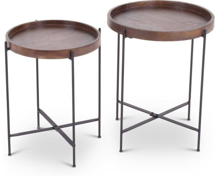 Armada Armada Nesting Table by Steve Silver at Morris Home