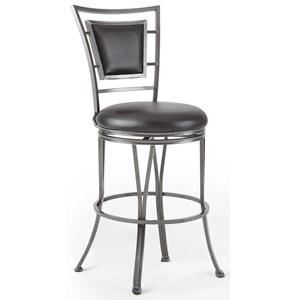 360° Swivel Bar Stool With Flame Retardant Seat