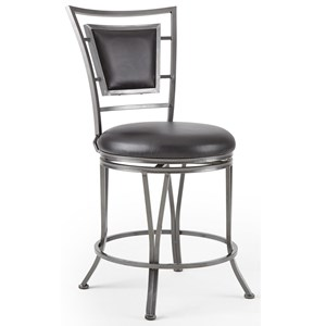 360° Swivel Counter Stool With Flame Retardant Seat