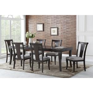 Transitional Dining Room Set
