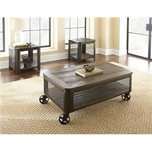 Cocktail Table with 2 End Tables