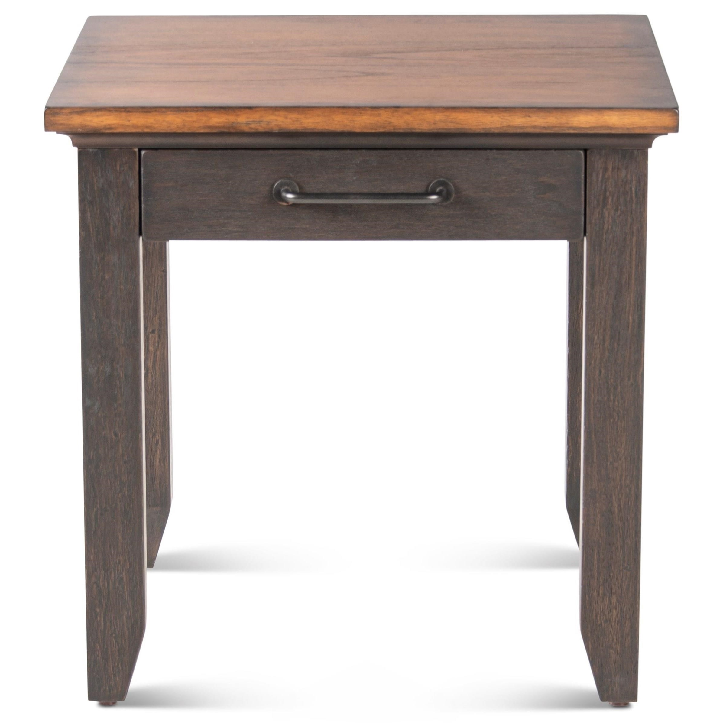 Bear Creek End Table by Steve Silver at Northeast Factory Direct