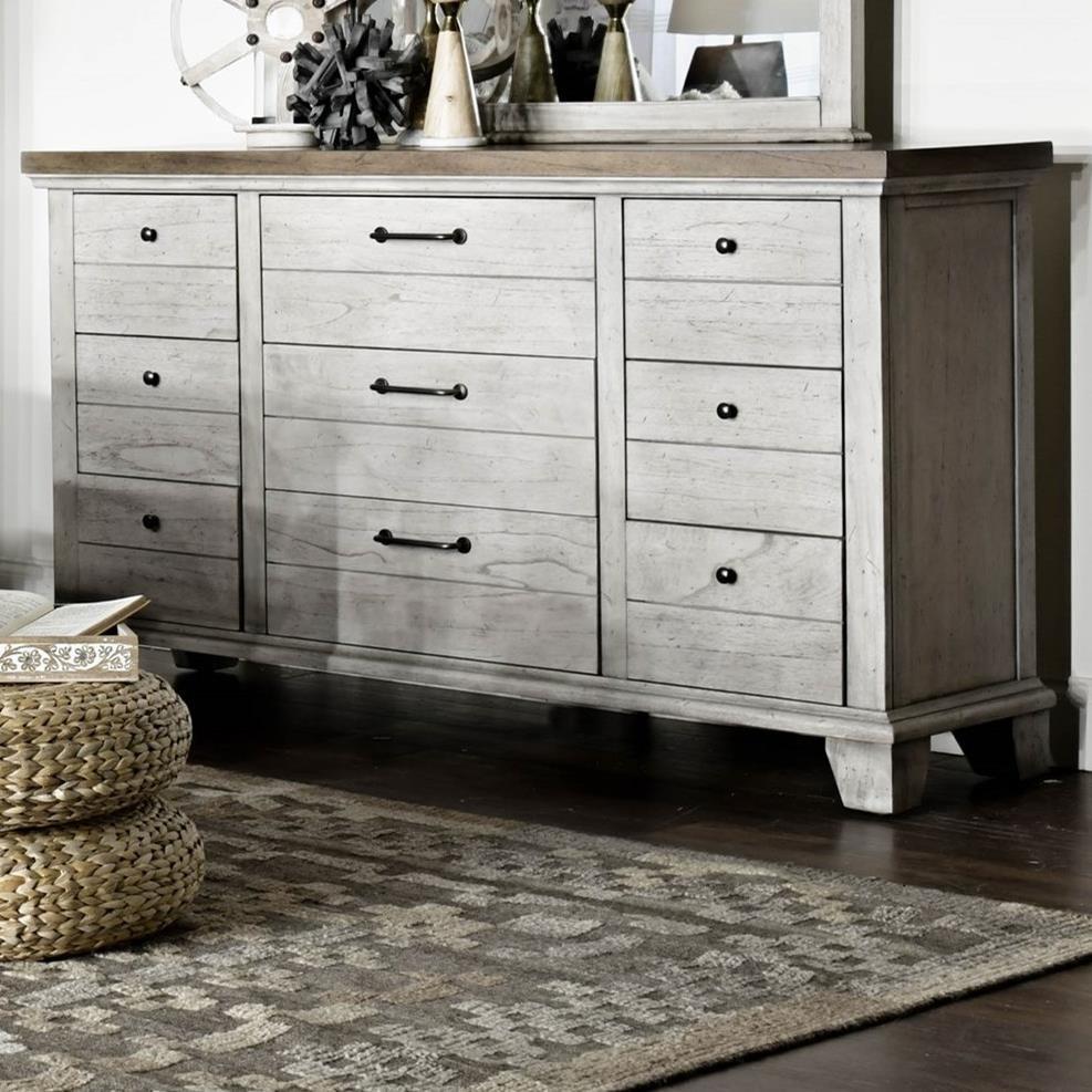 Bear Creek Dresser by Vendor 3985 at Becker Furniture