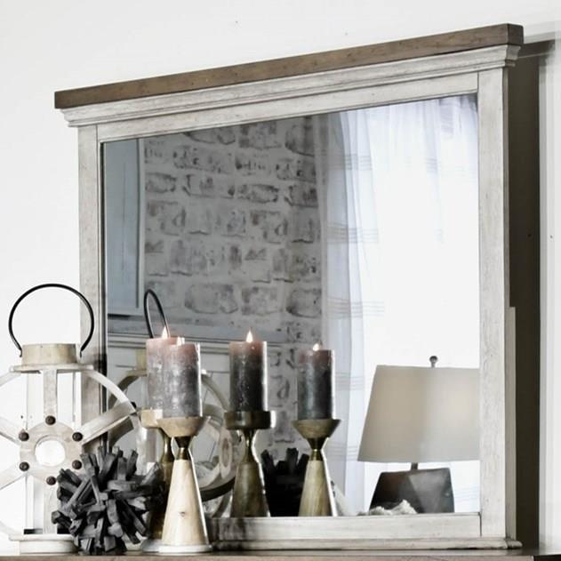 Bridgeport Mirror at Ruby Gordon Home
