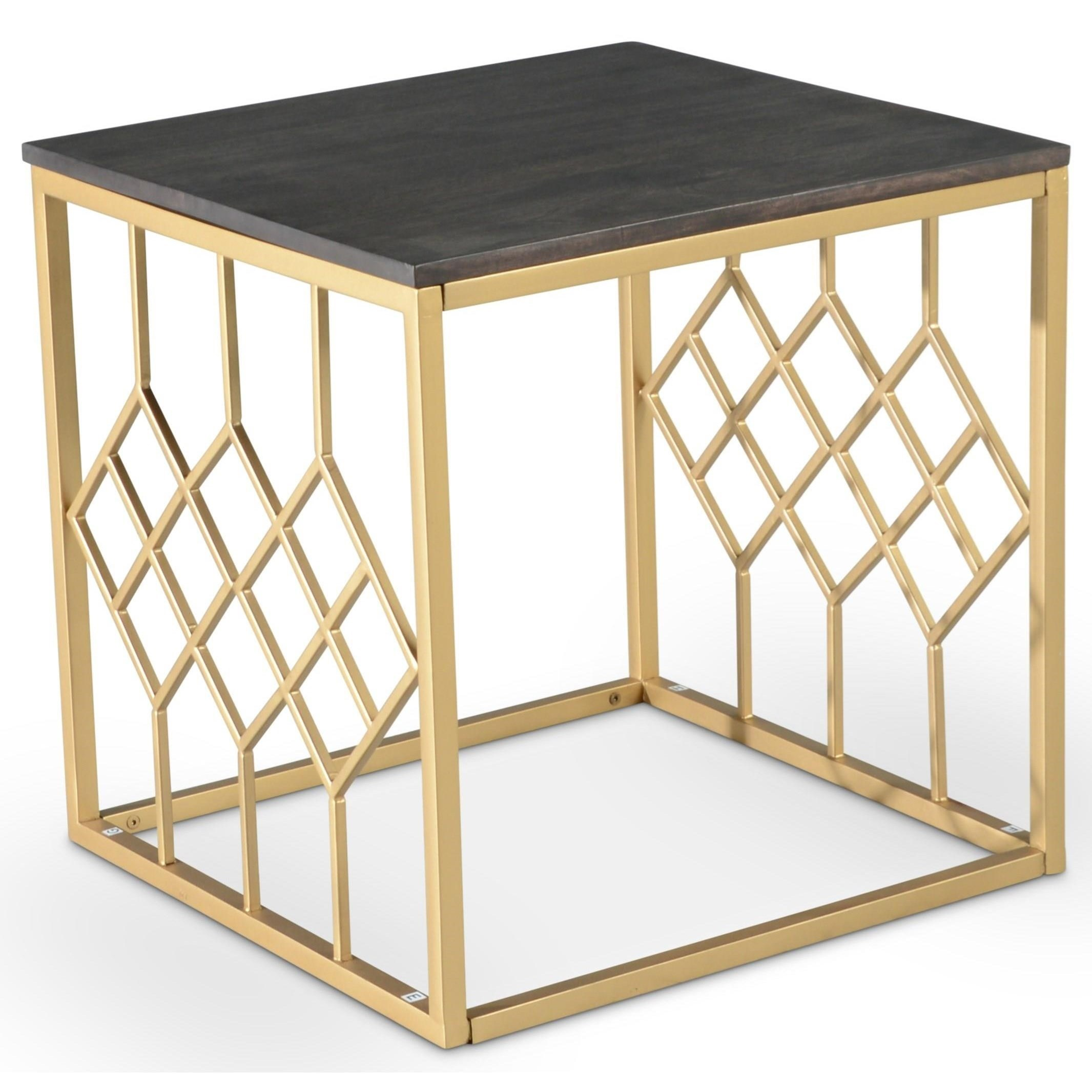 Beatrix Square End Table by Steve Silver at Northeast Factory Direct