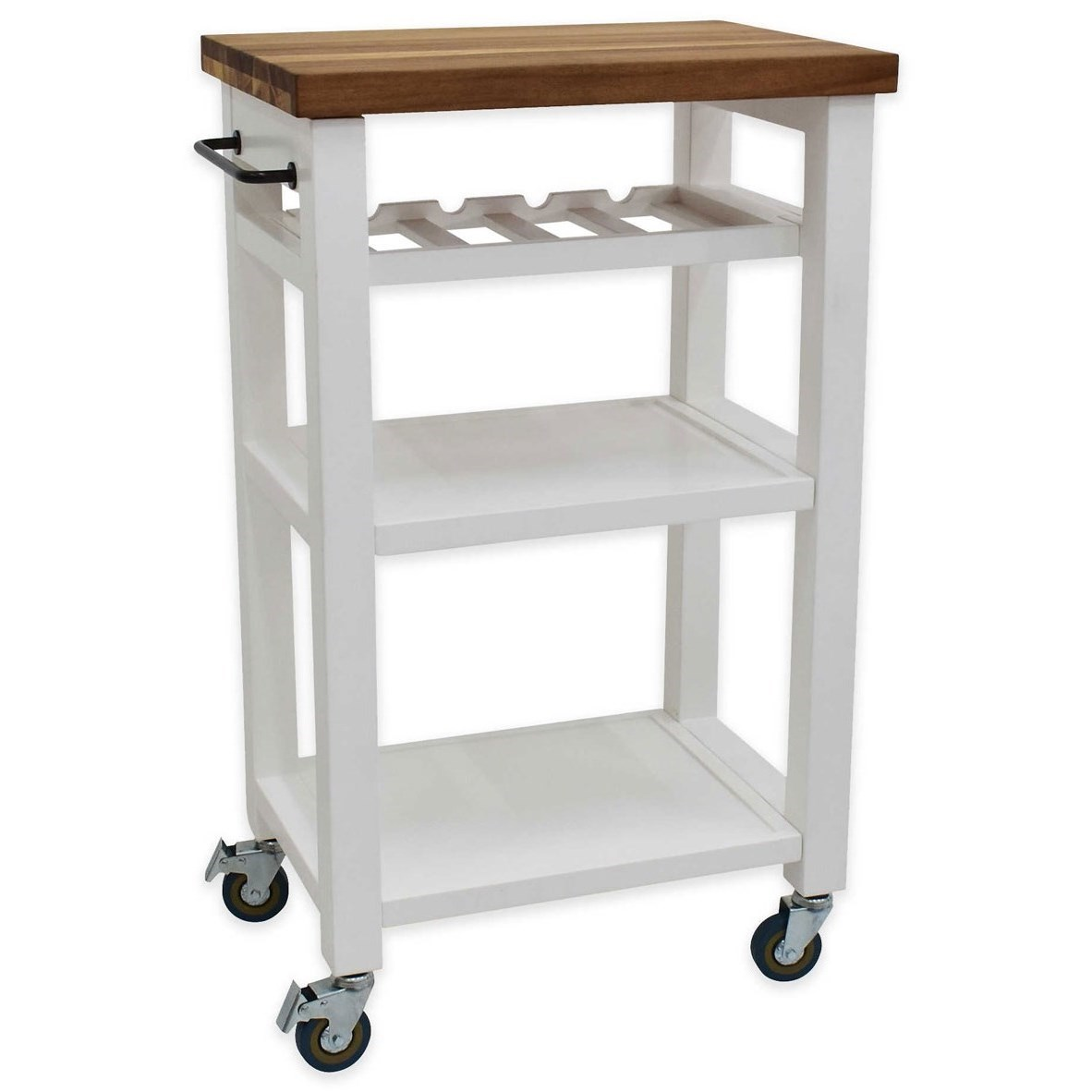 Belden Kitchen Cart by Steve Silver at Walker's Furniture