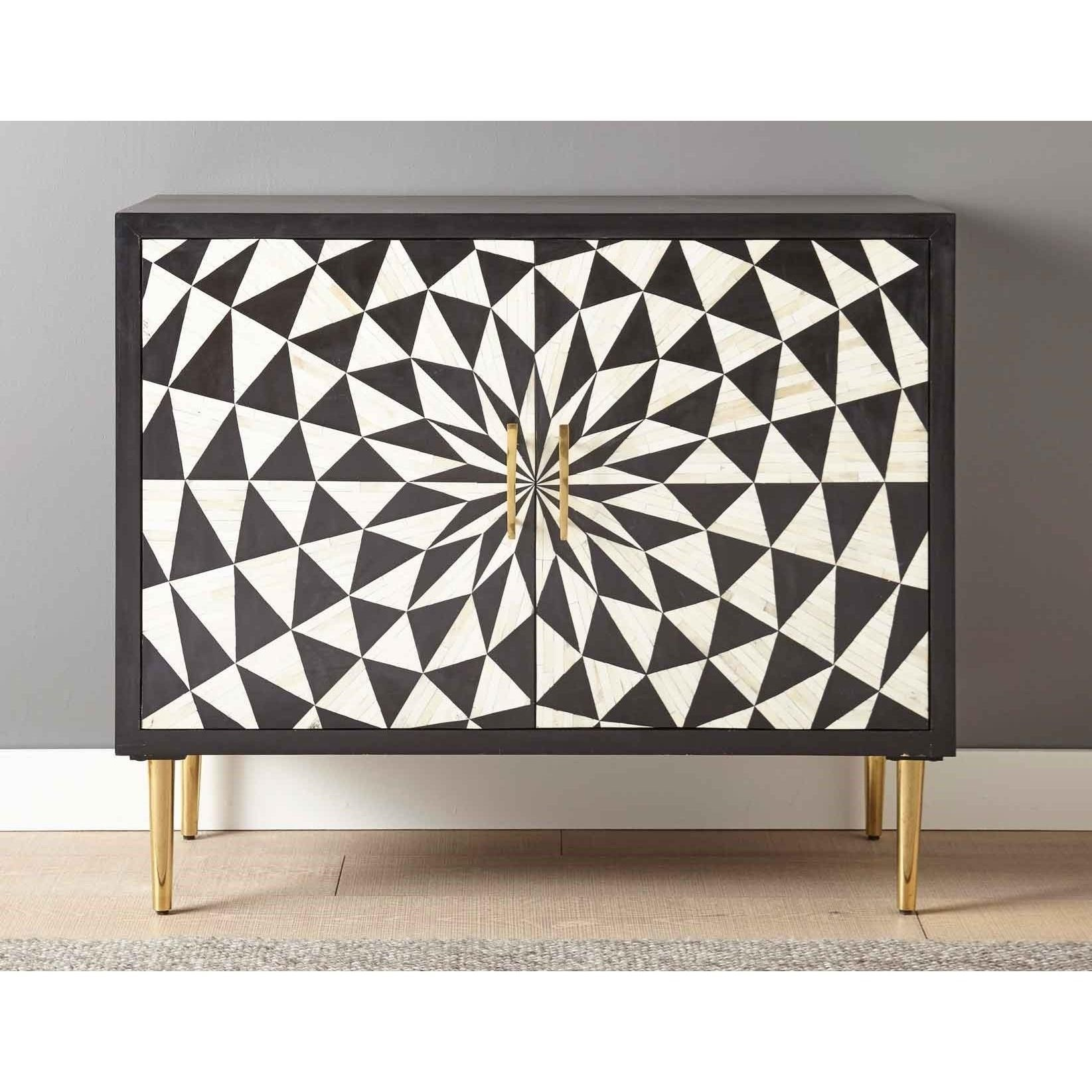 Benzara Accent Cabinet by Steve Silver at Standard Furniture