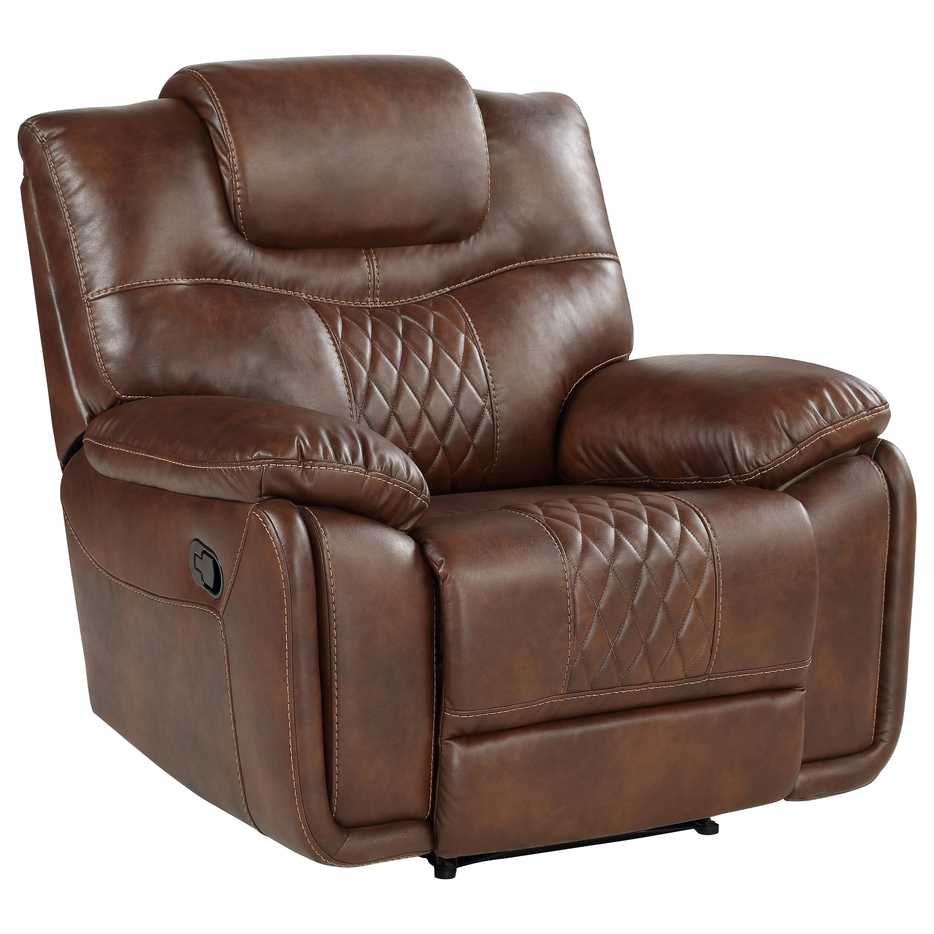 Boardwalk BK Manual Recliner Chair by Steve Silver at Northeast Factory Direct