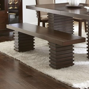 Contemporary Dining Bench