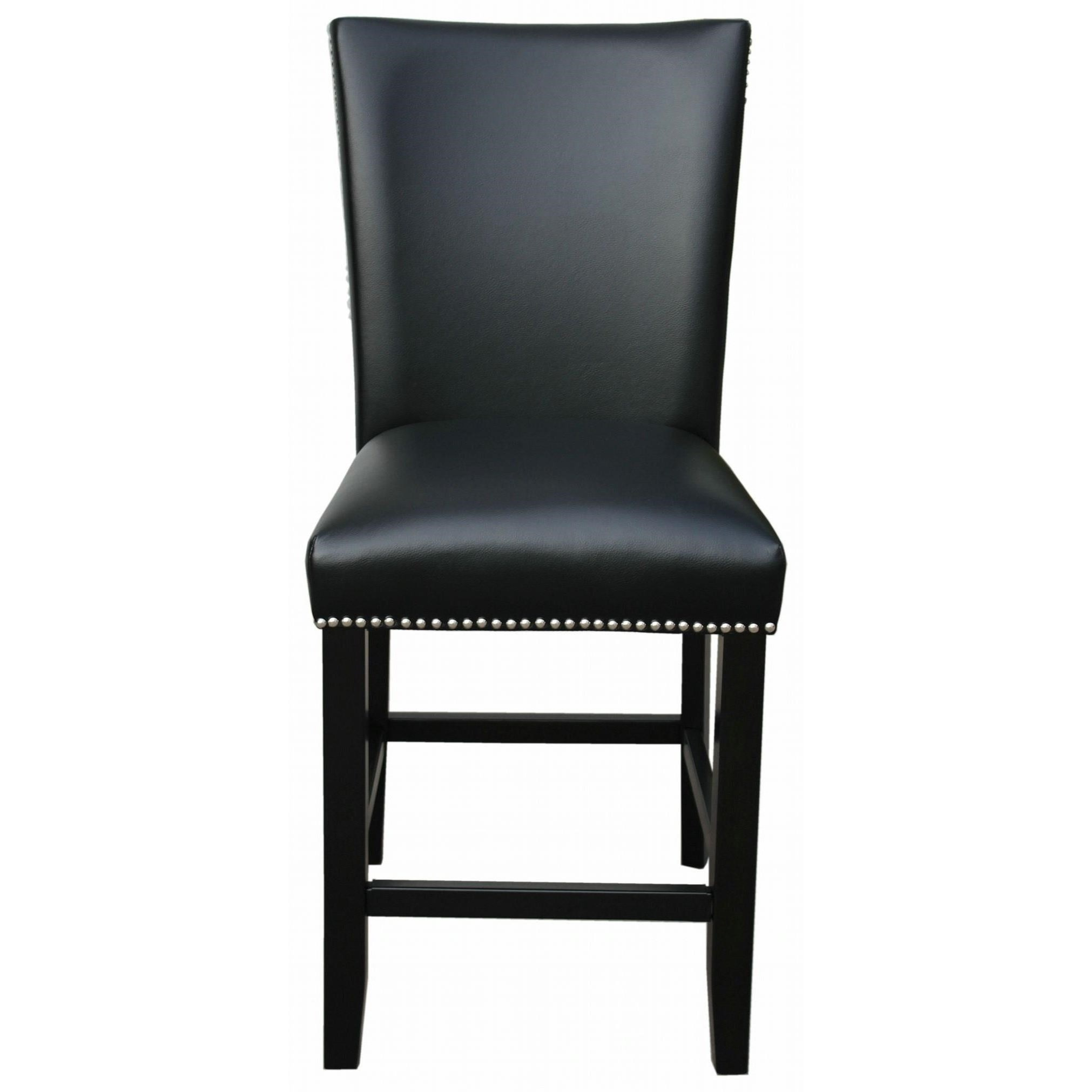 Camila Upholstered Counter Chair with Nailhead by Steve Silver at Northeast Factory Direct