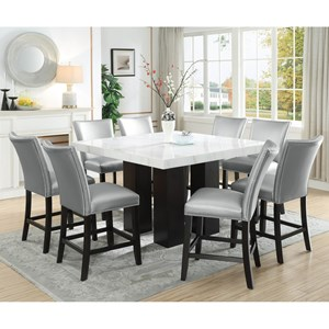 9 Piece Counter Height Dining Set