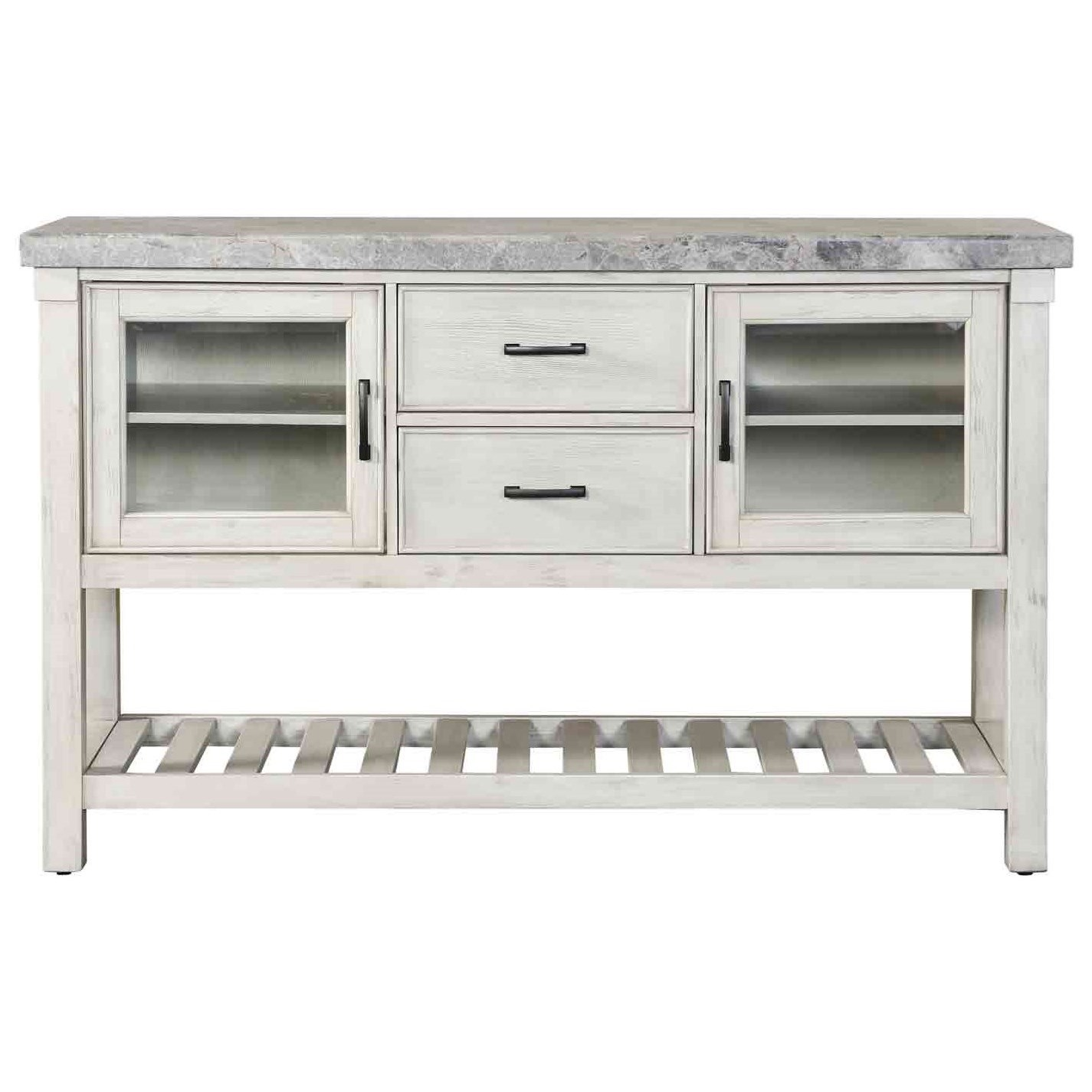 Canova Marble Top Server by Steve Silver at Standard Furniture