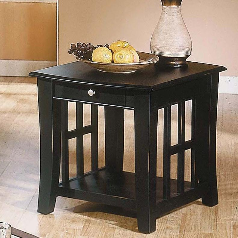 Cassidy  End Table by Steve Silver at Walker's Furniture