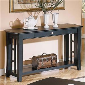 1 Drawer Sofa Table