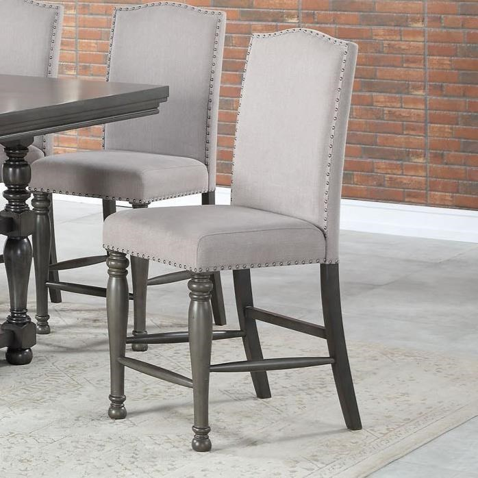 Caswell Counter Chair by Steve Silver at Walker's Furniture