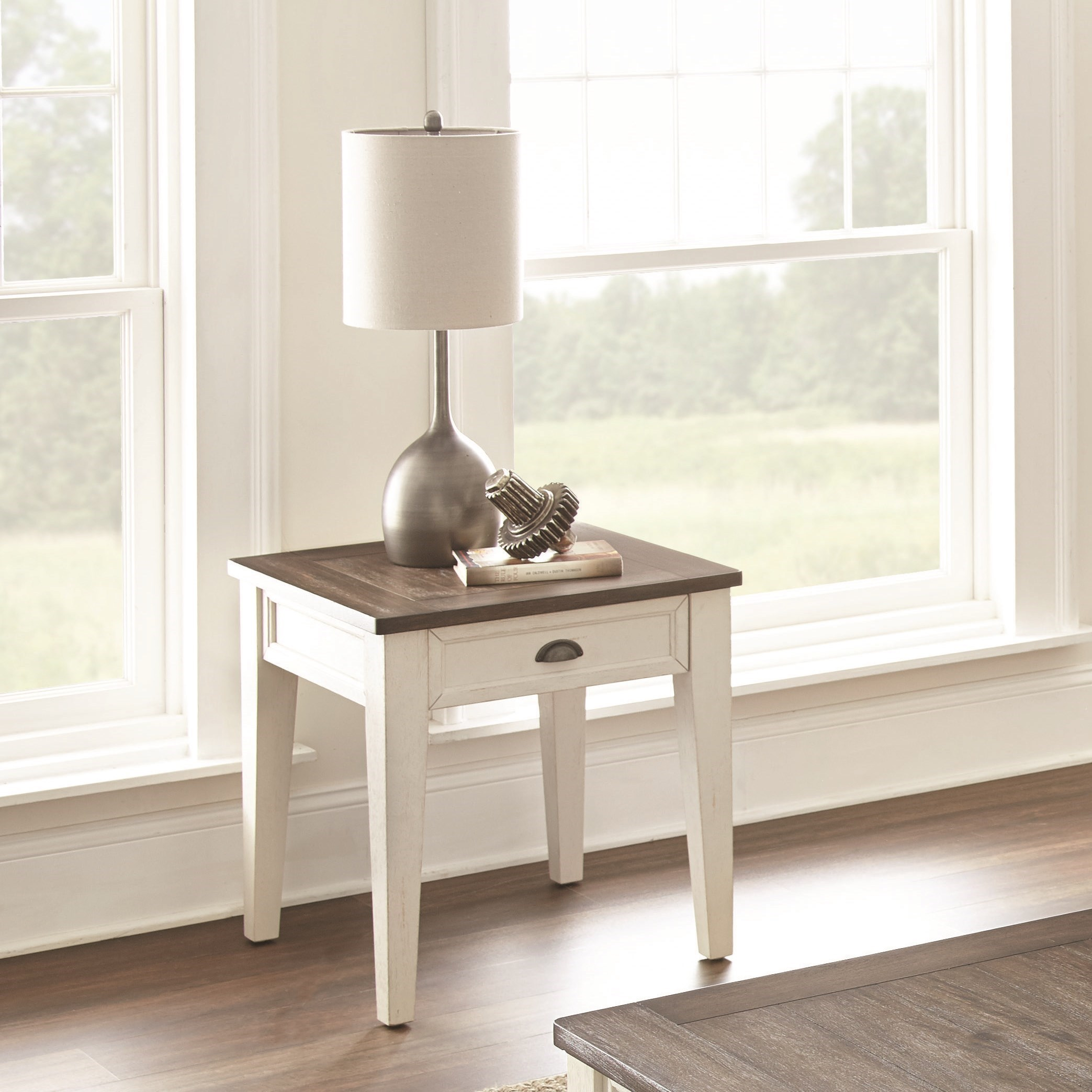 Cayla End Table by Steve Silver at Furniture Fair - North Carolina