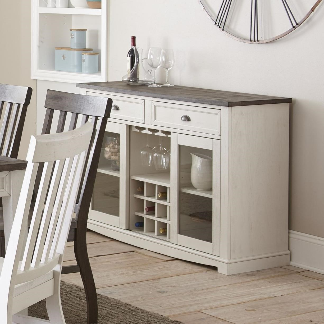 Cayla Server by Steve Silver at Wilcox Furniture