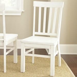 Slatback Farmhouse Side Chair