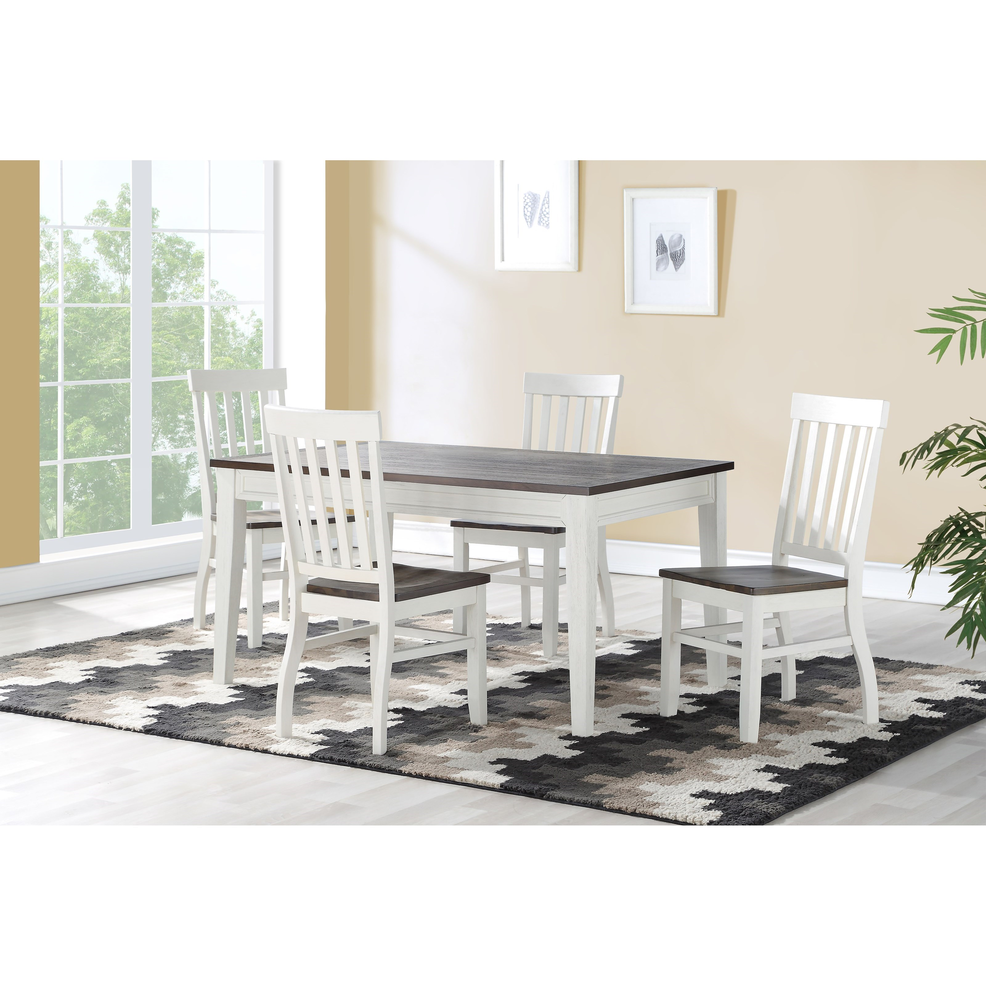 Caylie 5-Piece Dining Set by Steve Silver at Northeast Factory Direct