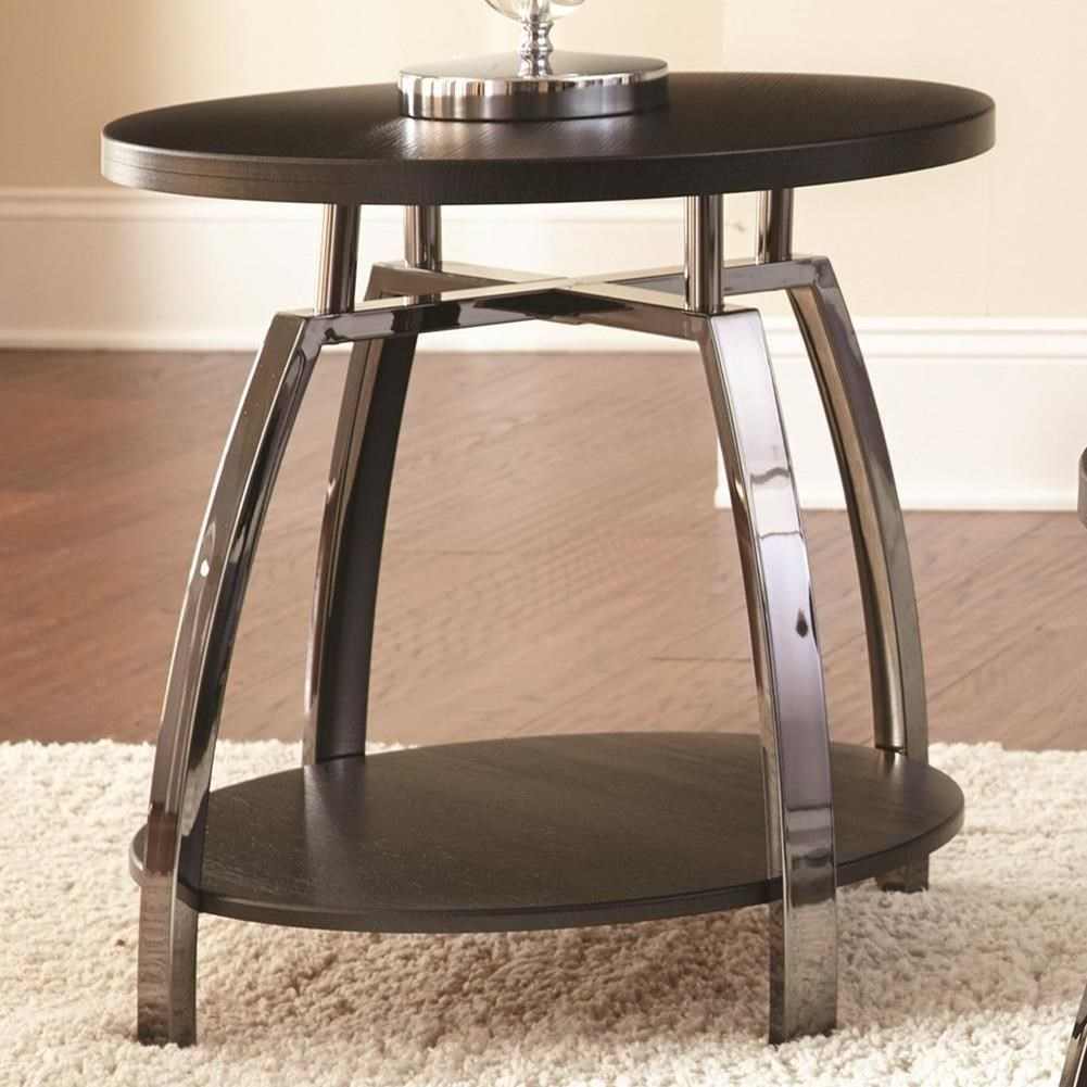 Coham End Table by Steve Silver at Northeast Factory Direct