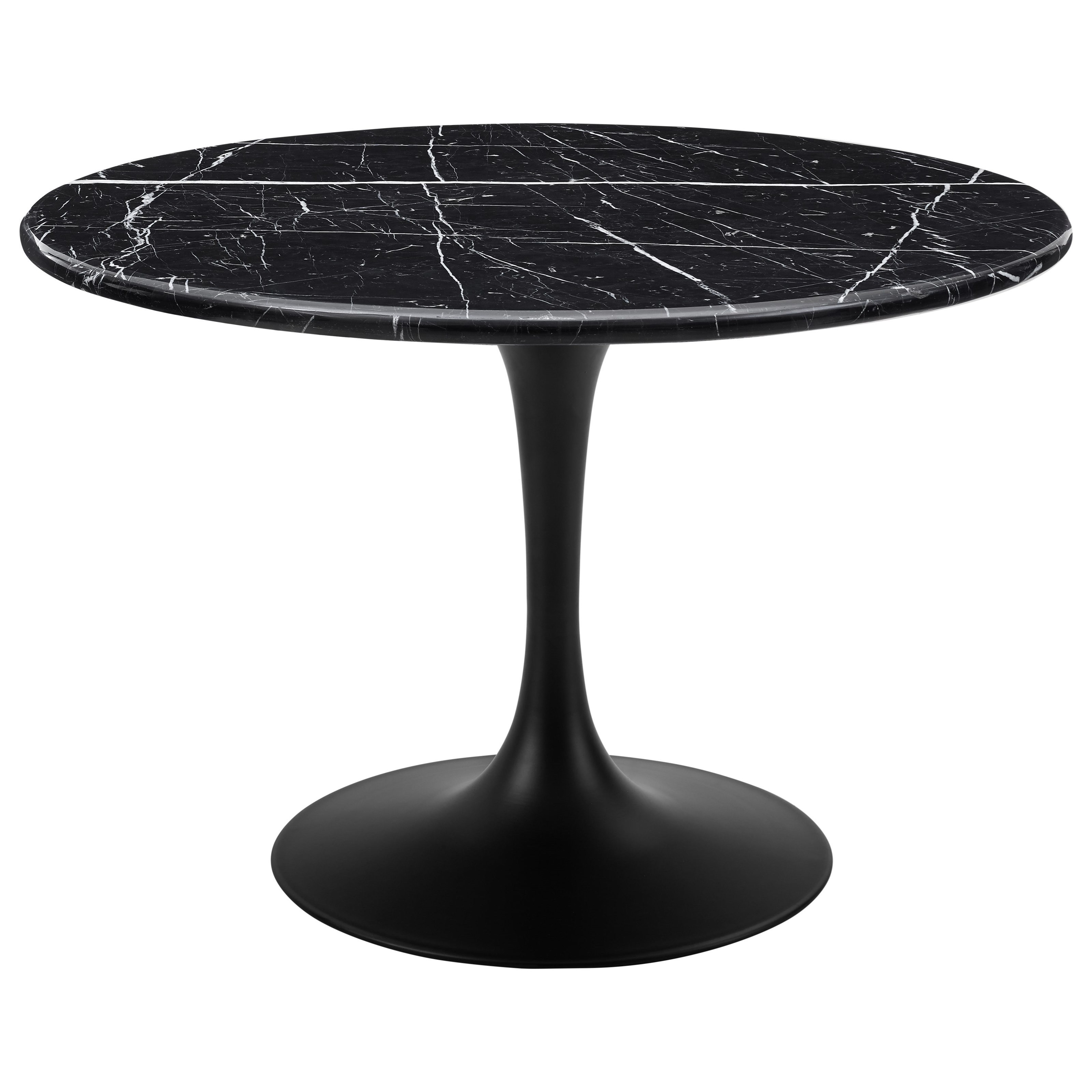 Colfax Table - Black Top & Black Base by Steve Silver at Walker's Furniture