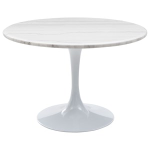 Table - White Top & White Base