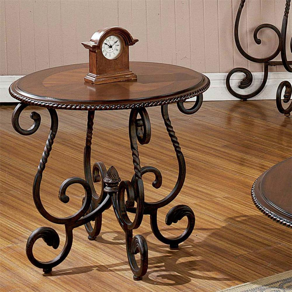 Crowley End Table by Steve Silver at Walker's Furniture