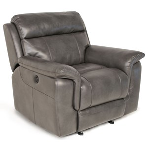 Lay-Flat Glider Reclining Chair