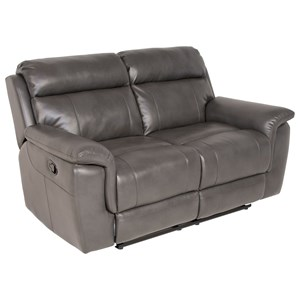 Lay-Flat Reclining Love Seat