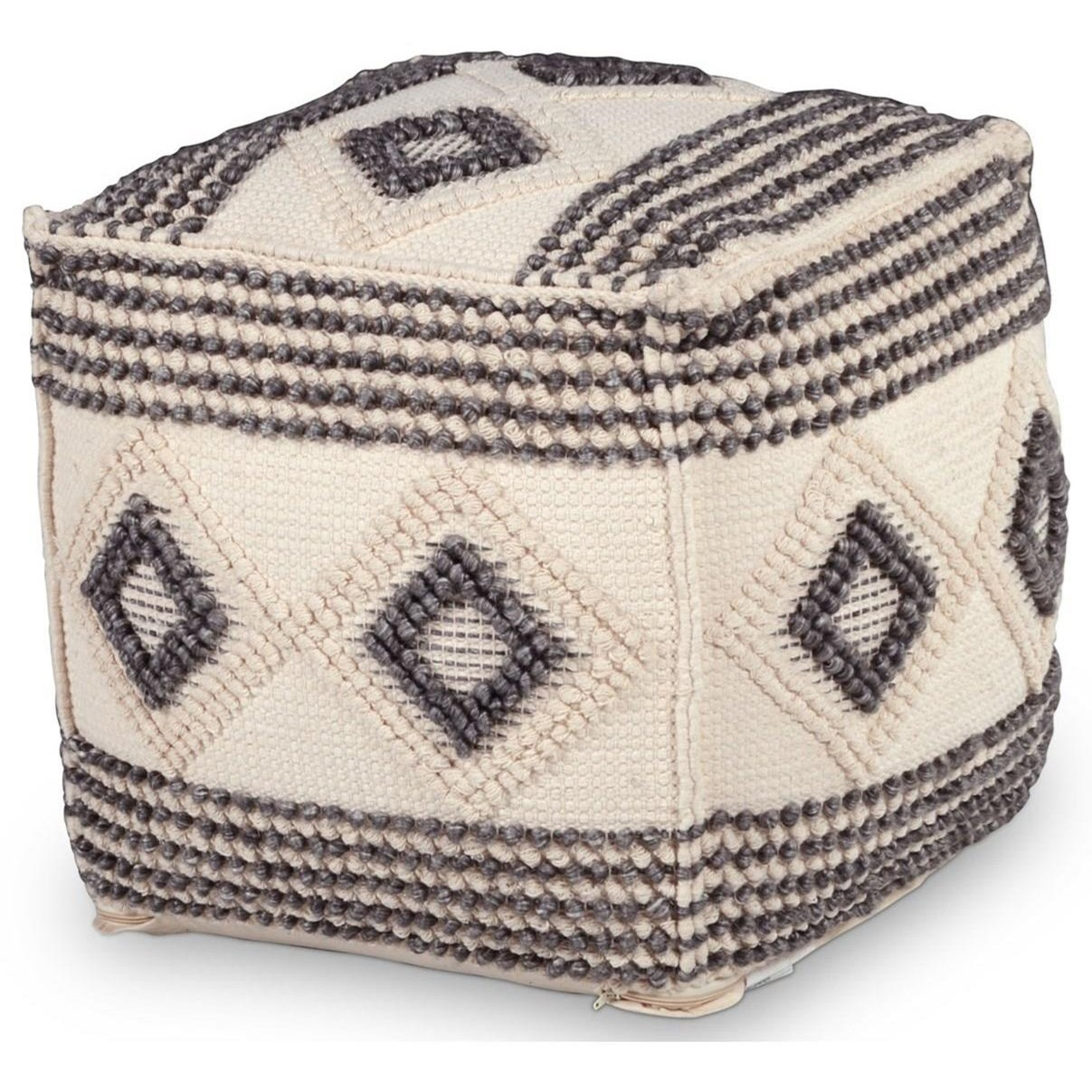 Dalia Handwoven Pouf by Steve Silver at Northeast Factory Direct