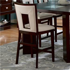 Contemporary Counter Height Dining Side Chair