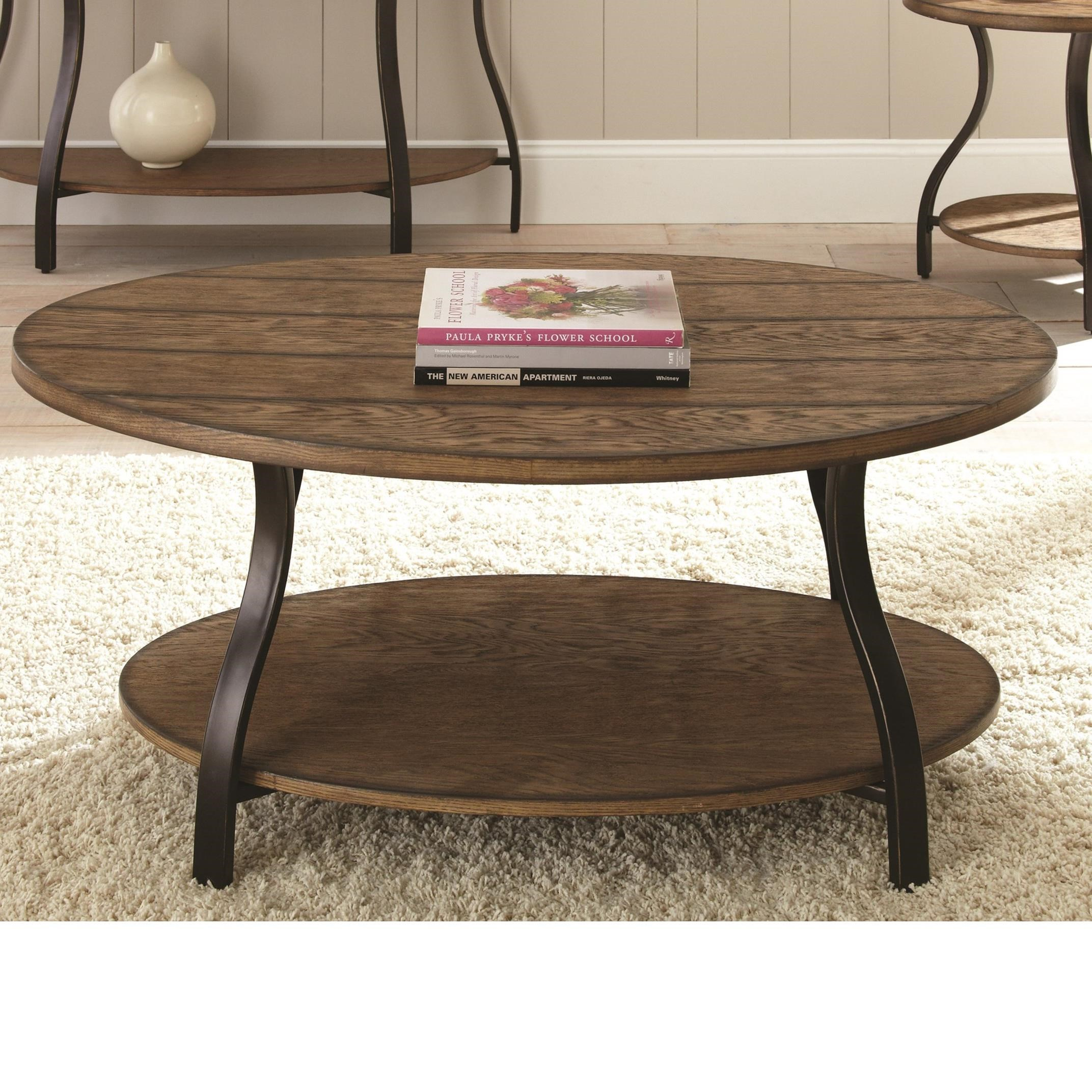 Denise Cocktail Table by Steve Silver at Walker's Furniture