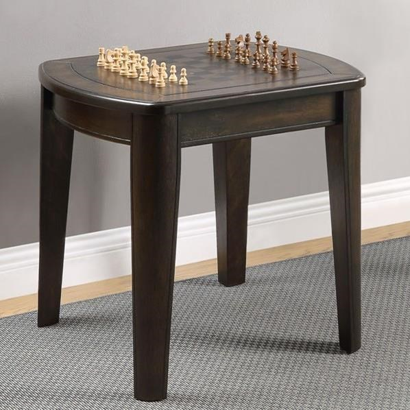 Diletta Game End Table  by Steve Silver at Walker's Furniture