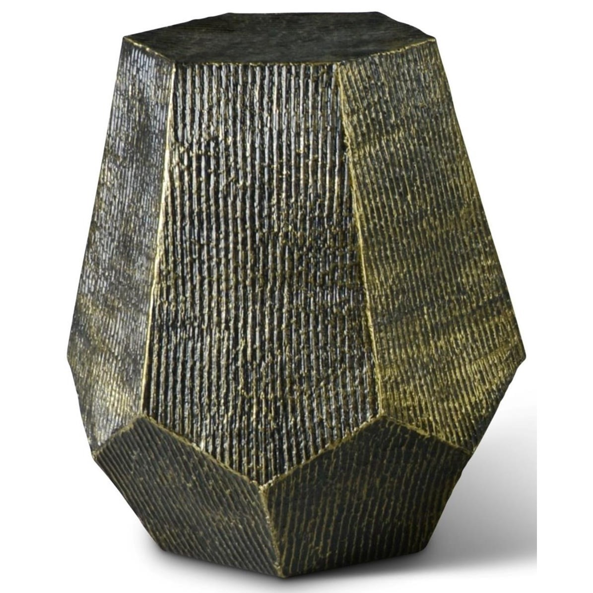 Donato Hexagon End Table by Steve Silver at Northeast Factory Direct