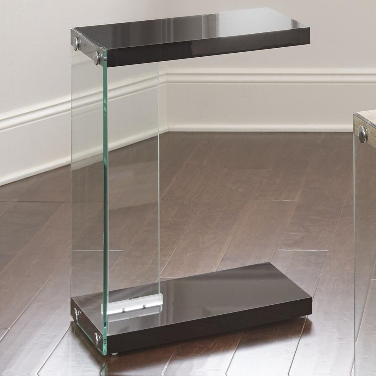 Elaina Chair Side End Table by Steve Silver at Northeast Factory Direct
