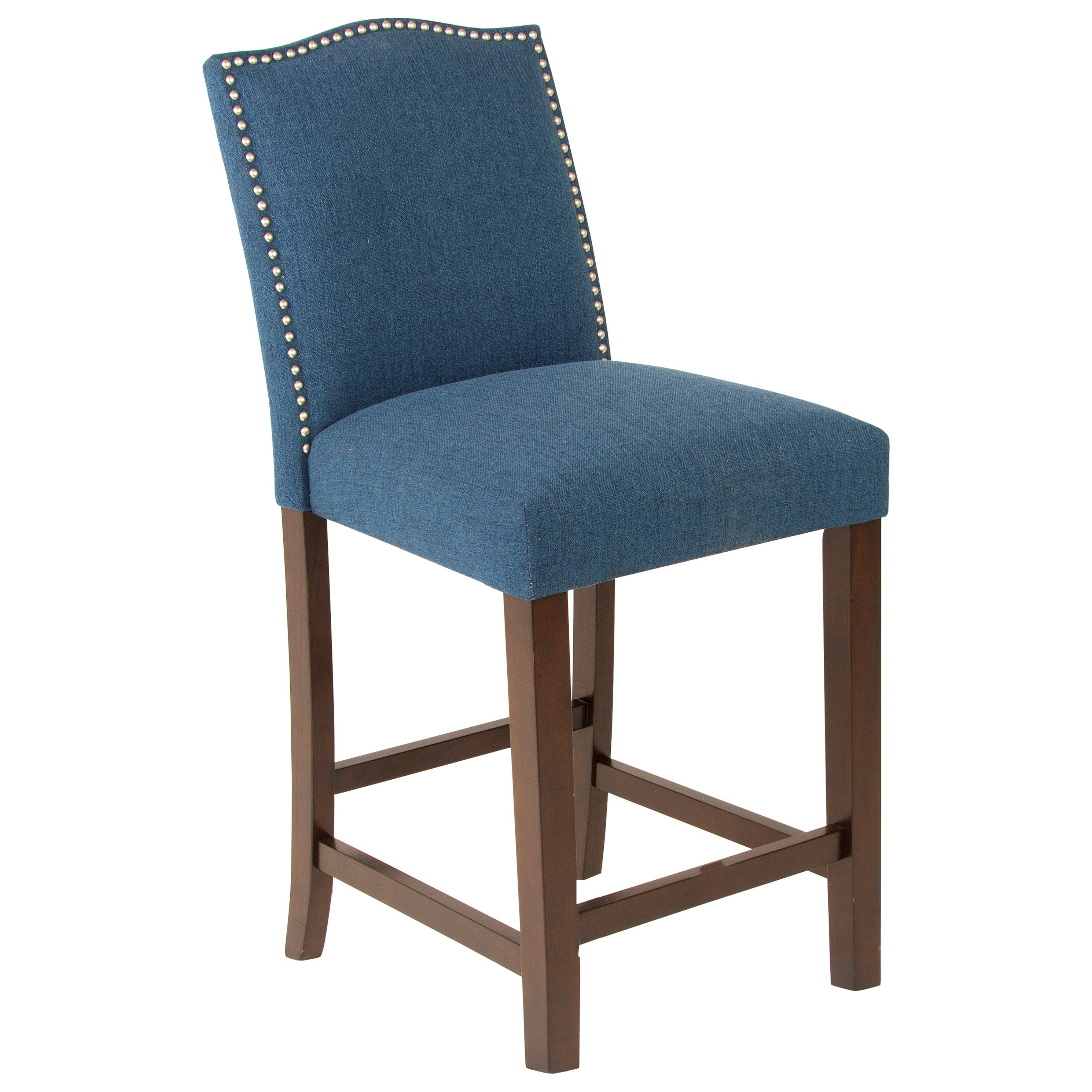 Elden Upholstered Counter Chair by Steve Silver at Walker's Furniture